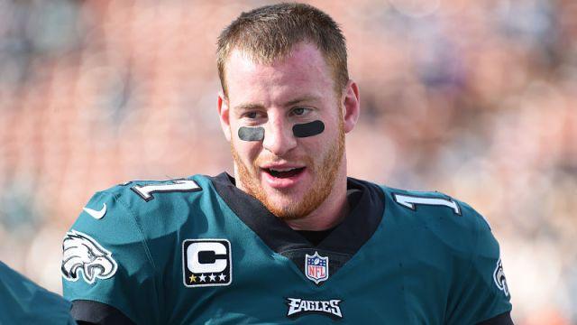 Philadelphia Eagles quarterback Carson Wentz
