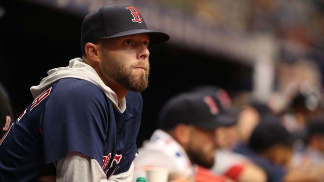 Boston Red Sox second baseman Dustin Pedroia