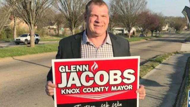 """Glenn Jacobs (a.k.a. """"Kane"""")"""