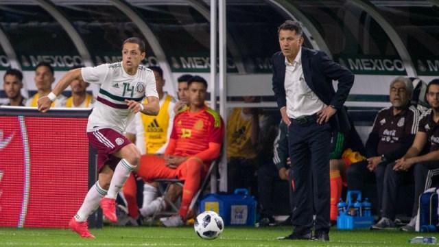 Mexico's Javier Chicharito Hernandez