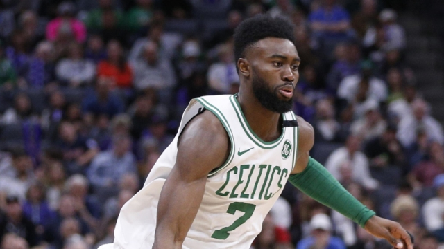 Boston Celtics swingman Jaylen Brown
