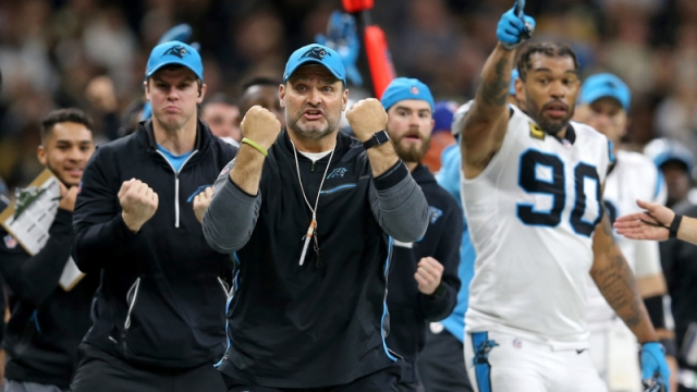 Carolina Panthers strength and conditioning coach Joe Kenn