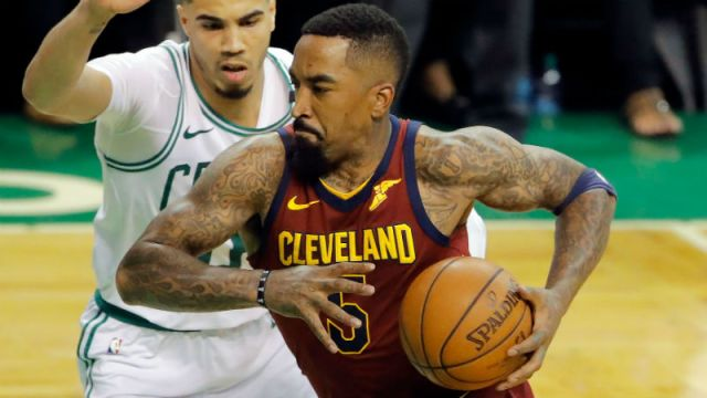Cleveland Cavaliers guard JR Smith
