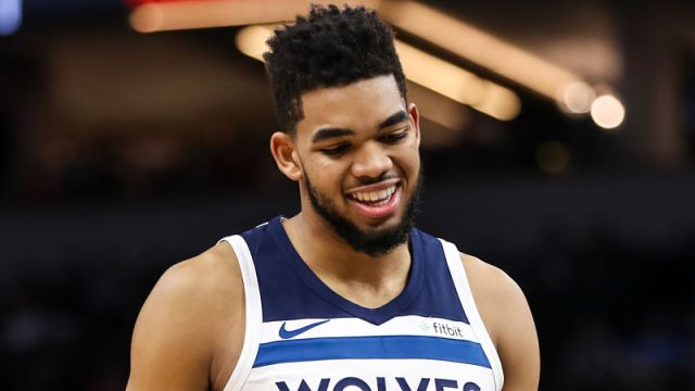 Minnesota Timberwolves forward Karl-Anthony Towns