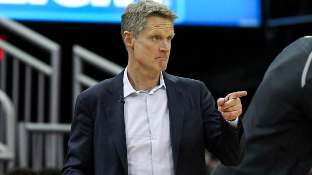 Warriors coach Steve Kerr