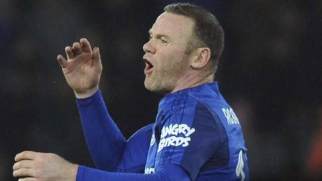 Everton forward Wayne Rooney