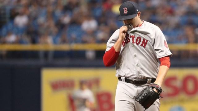 Boston Red Sox Relief Pitcher Carson Smith
