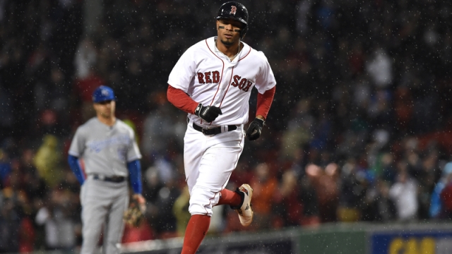 Red Sox shortstop Xander Bogaerts