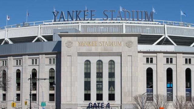 Yankee Stadium general view