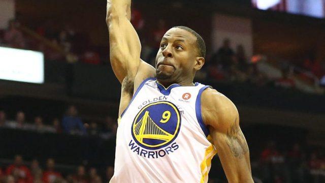 Golden State Warriors forward Andre Iguodala