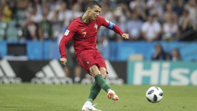 Portugal forward Cristiano Ronaldo