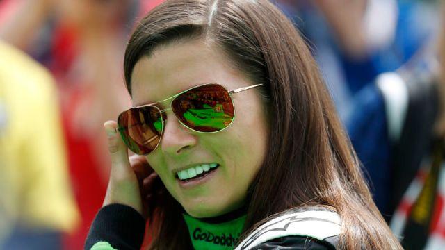 Former racecar driver Danica Patrick