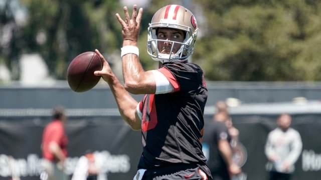 San Fransisco 49ers Quarterback Jimmy Garoppolo