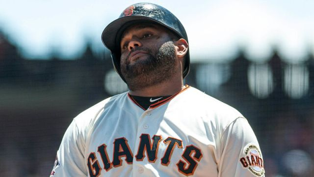 San Francisco Giants third baseman Pablo Sandoval