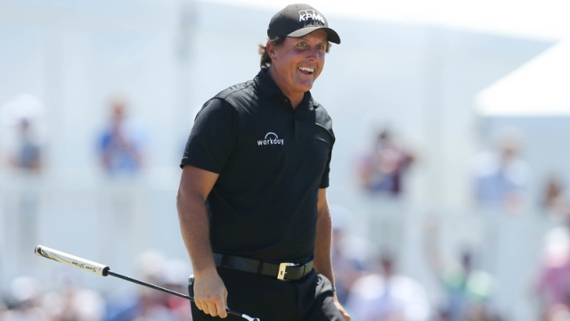 Professional Golfer Phil Mickelson