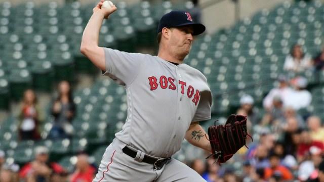 Red Sox starter Steven Wright