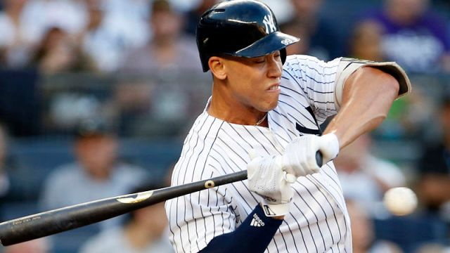 New York Yankees outfielder Aaron Judge