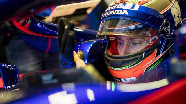Formula One driver Brandon Hartley