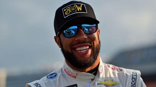 NASCAR driver Darrell Wallace Jr.