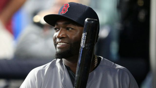 Retired Boston Red Sox Designated Hitter David Ortiz
