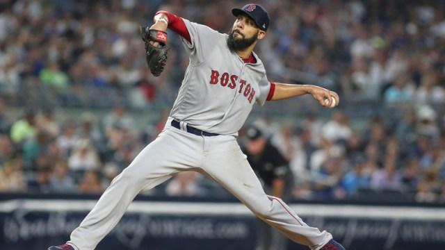Boston Red Sox Starting Pitcher David Price