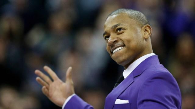 Denver Nuggets point guard Isaiah Thomas