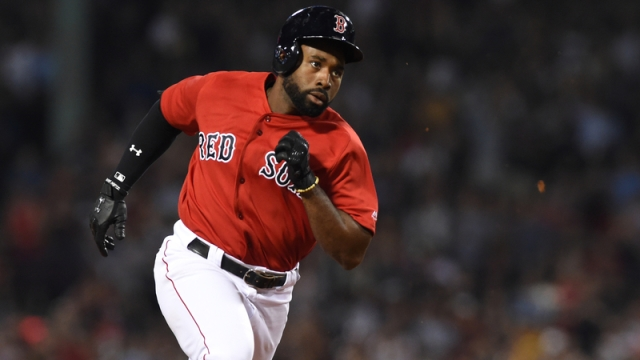 Boston Red Sox Center Fielder Jackie Bradley Jr.