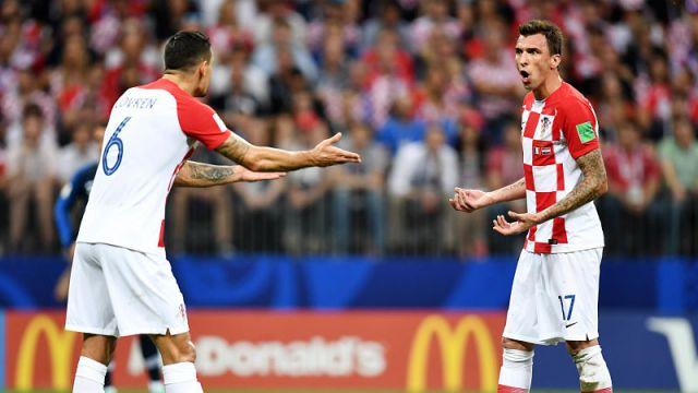 Croatia forward Mario Mandzukic