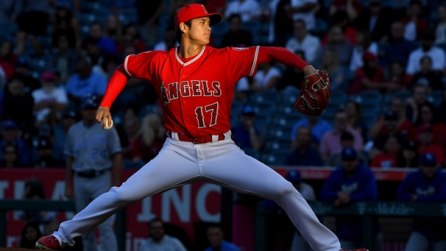 Los Angeles Angels Two-Way Player Shohei Ohtani