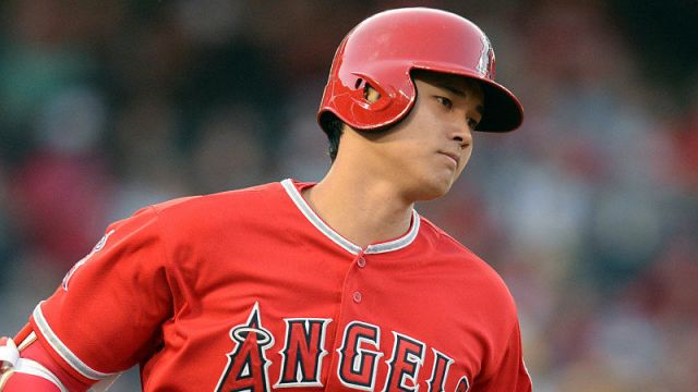Los Angels Angels player Shohei Ohtani