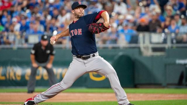 Boston Red Sox Relief Pitcher Tyler Thornburg