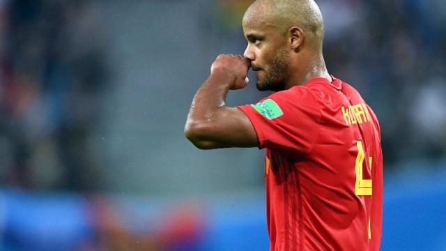 Belgium defender Vincent Kompany