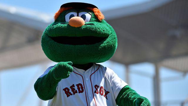 Boston Red Sox mascot Wally