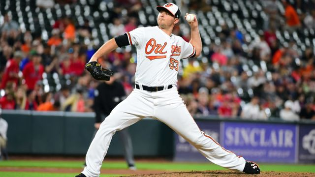 Baltimore Orioles pitcher Zach Britton