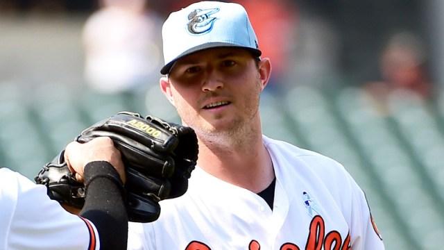 Orioles reliever Zach Britton