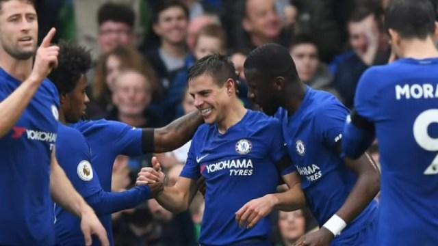 Chelsea defender Cesar Azpilicueta