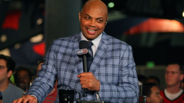 Former NBA player and current TNT television personality Charles Barkley