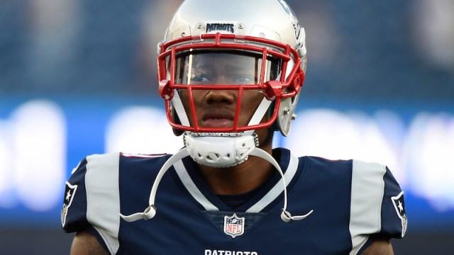 Patriots cornerback Cyrus Jones