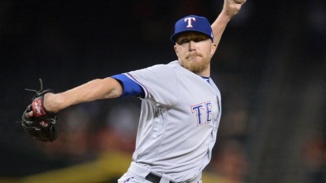 Ex-Texas Rangers relief pitcher Jake Diekman