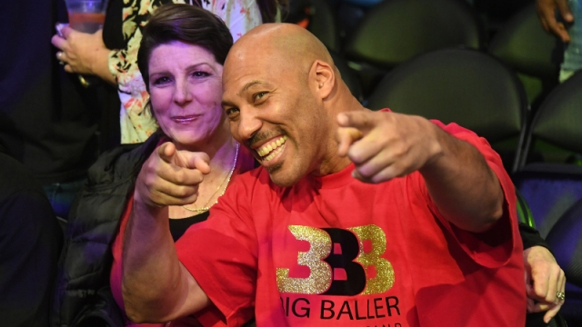LaVar Ball and Tina Ball