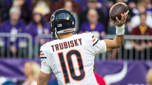 Chicago Bears quarterback Mitchell Trubisky