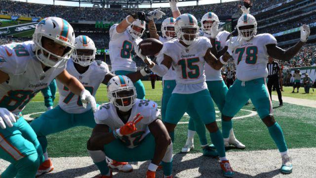 Miami Dolphins wide receiver Albert Wilson