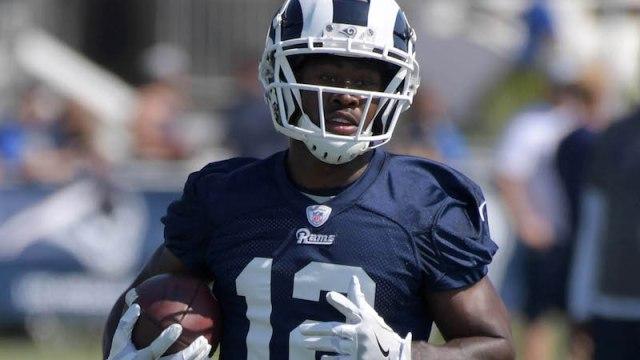 Rams wide receiver Brandin Cooks