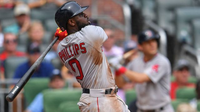 Boston Red Sox second baseman Brandon Phillips