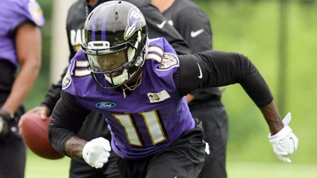 Baltimore Ravens wide receiver Breshad Perriman