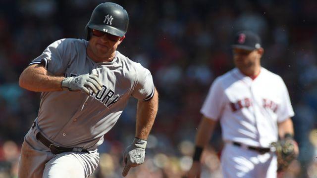 New York Yankees outfielder Brett Gardner
