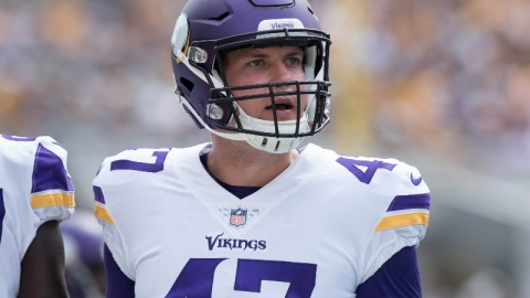Minnesota Vikings long snapper Kevin McDermott