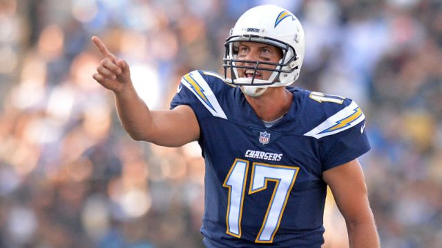 Los Angeles Chargers quarterback Philip Rivers