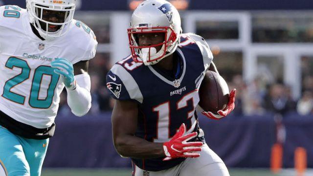 New England Patriots wide receiver Phillip Dorsett