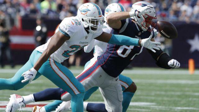 Patriots tight end Rob Gronkowski
